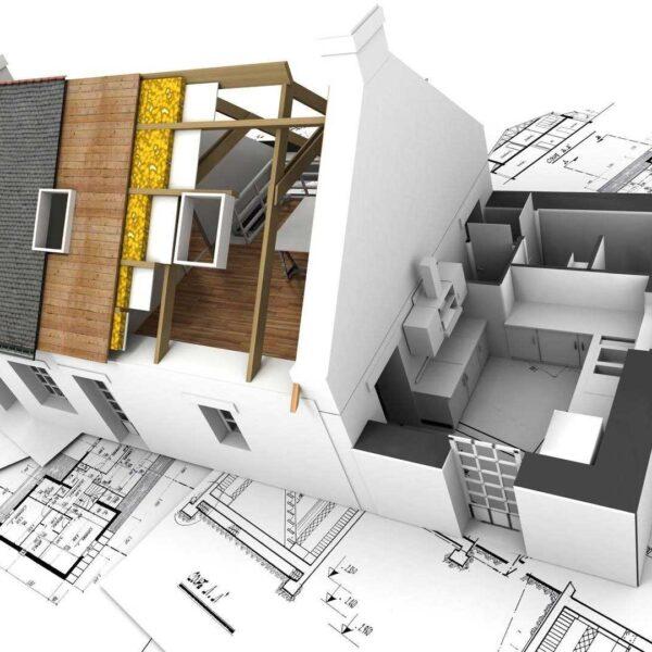 طراحی معماری نقشه های جواز طراحی نما