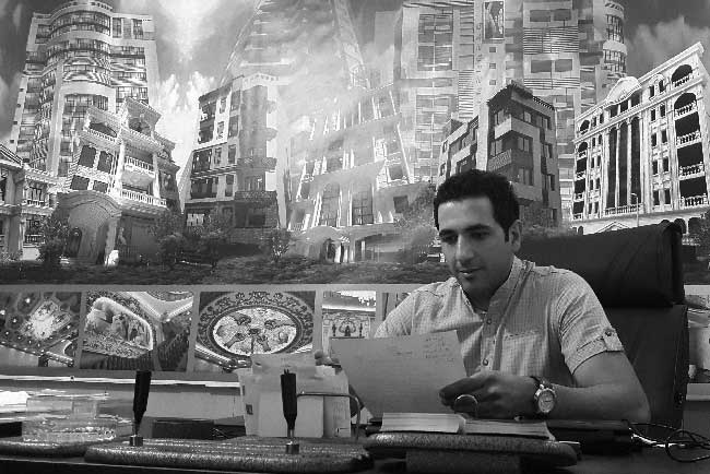 علی تفقدی زارع گروه معماری هشت گوش-علی تفقدی زارع