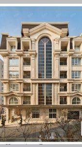 طرح نمای کلاسیک-گروه معماری هشتگوش