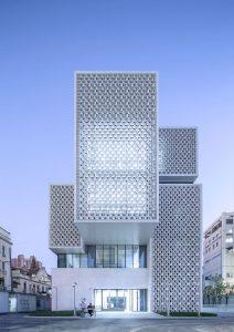 طرح نمای مینیمال-گروه معماری هشتگوش