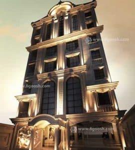نمای کلاسیک/نمای رومی/ جواز ساختمان