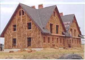 ساختمانهای ساخته شده از مصالح کاه نی و بامبو