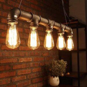 منابع روشنایی در سبک دکوراسیون صنعتی - 3